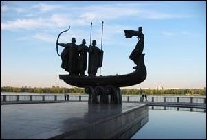 Памятник Кий.Щек.Хорев